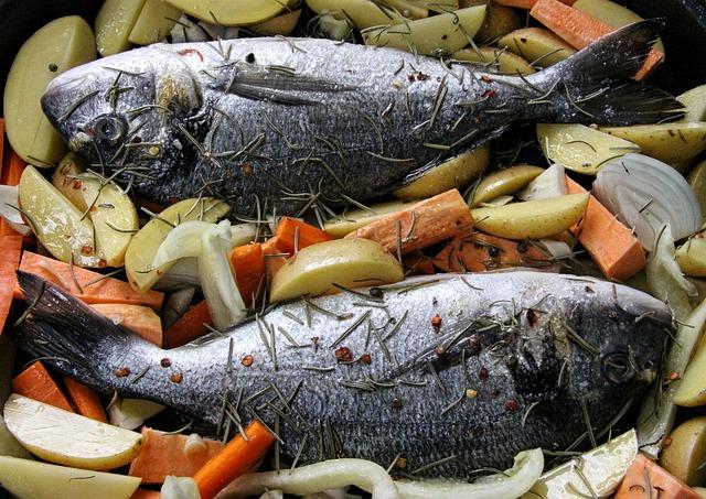 cuisson des poissons
