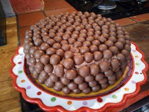 Gâteau aux perles de chocolat